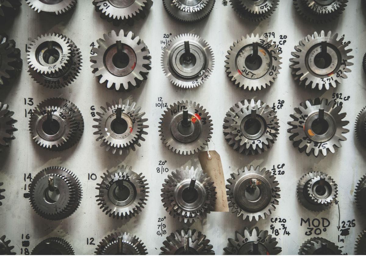 Variety of metal gears